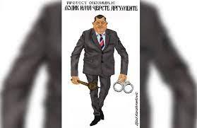 Karikaturista Zijad Karahmetović našalio se na račun demokratije Milorada  Dodika